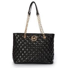Michael Kors Quilted Large Black Shoulder Bag | MK is bae ... & Michael Kors Quilted Large Black Shoulder Bag Adamdwight.com