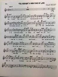 Details About Frank Sinatra You Brought A New Kind Of Love 17 Part Big Band Vocal Chart