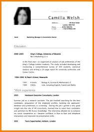 Resume Sample Undergraduate Student Therpgmovie Undergraduate