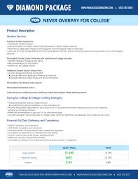 pom college consulting never overpay for college diamond package never overpay for college