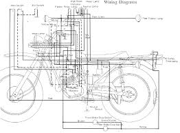 motorcycle wiring circuit and wiring diagram wiringdiagram net wiring diagram yamaha dt 100 dt175 enduro motorcycle