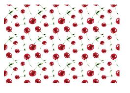 Cherry Pattern Simple Design Inspiration