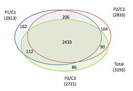 Euler Venn Diagram How To Plot A 3 Set Proportional Venn Euler Diagram Stack Overflow