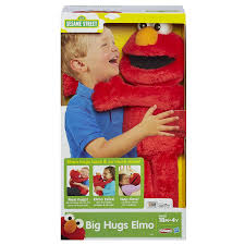 Amazon Playskool Sesame Street Big Hugs Elmo Plush Toys Games
