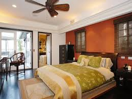 Good Feng Shui Colors For Bedroom Decorating, Warm Orange Color Shades,  Golden And Green Colors