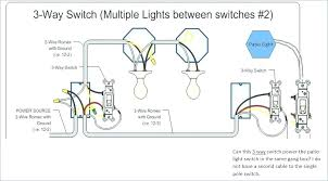 3 way light switch diagram 3 way light switch diagram single pole switch wiring diagram power at the light electrical info