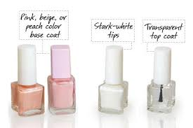 french manicure nail paints
