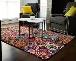 anji mountain recycled cotton tangier rug