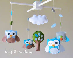 Baby Crib Mobile - Baby Mobile - Owl Mobile - Custom baby mobile - Pick  your colors :)