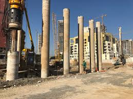 Building Constructions Company Al Rabat Building Contracting Co Completes Piling And