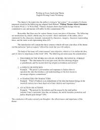 cover letter theme essay format theme analysis essay format theme  cover letter how to write a theme essay narrative format resume ideas analysis sample about zombie