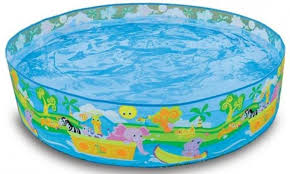 intex swimming pool for kids. Simple For Intex Snapset 4 Feet Kids Water Pool Bath Tub Swimming On For R