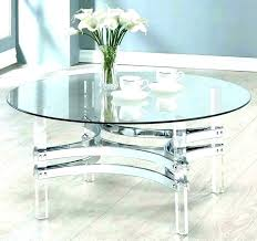 dining tables glass cover for dining table acrylic round clear medium size of coffee circular