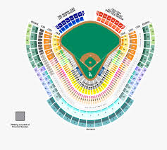 Dodger Stadium Seating Chart Los Angeles Seat Number