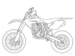 Great yamaha dirt bike coloring pages coloringsuite 531