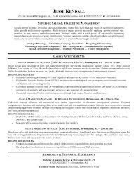 Sample Resume For Sales And Marketing Resume Examples For Sales And