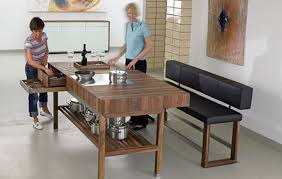 kitchen wood furniture. Contemporary Modern Wooden Furniture Design For Home Interior By Schulte \u2013 Kitchen Table Wood