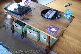 tips for refinishing a coffee table