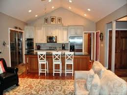 Open Concept Kitchen Living Room Designs Tag For Open Plan Kitchen Living Room Flooring Ideas Nanilumi