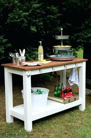 outdoor serving cart use your to create a stylish outdoor serving buffet free plans by outdoor outdoor serving cart