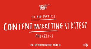 Content Marketing Strategy B2b Content Marketing Strategy Checklist Velocity Partners