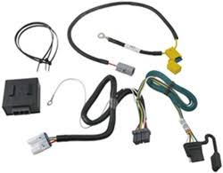 how does trailer wiring harness 118518 install on a 2012 mitsubishi Subaru Baja Wiring Diagram t one vehicle wiring harness with 4 pole flat trailer connector