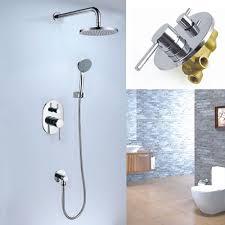 bathroom shower faucets. Concealed Rain Shower Faucet Set A2696 Bathroom Faucets H