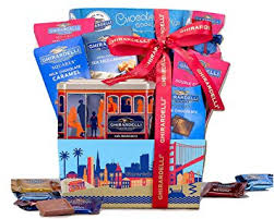 ghirardelli gift basket by wine country gift baskets gourmet chocolate holiday gift basket for family