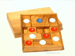 Wooden Strategy Games Table Games Educational Games and Puzzles Brain Teasers Parlor 10