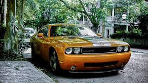Cars Dodge Challenger Srt Muscle Car Wallpaper