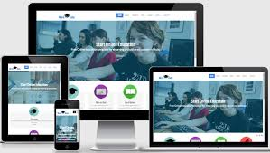 Free Responsive Website Templates Gorgeous Latest Free Education Website Template Webthemez