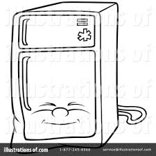 refrigerator clipart. royalty-free (rf) refrigerator clipart illustration #1051413 by dero