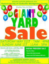 yard flyers of great help demplates yard 7 flyer