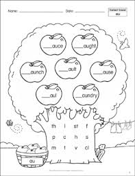 Here, you will find free phonics worksheets to assist in learning phonics rules for reading. Long Vowels Ai Ay Phonics Tree Printable Skills Sheets