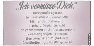 Ich Vermisse Dich In 22 Sprachen Häfftde