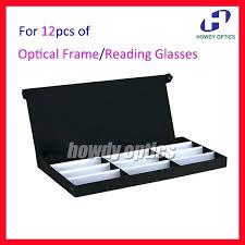 retail 12a eyeglass eyewear optical frames reading glasses display eyeglass display case vintage eyeglass display case