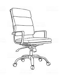 office chair drawing. Brilliant Office Office Chair Hand Drawing  Illustration Royaltyfree Office Chair  Stock Vector Intended Drawing S