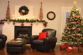 Living Room Christmas Decoration Best Collection For Christmas Living Room Decor Colorful Garland
