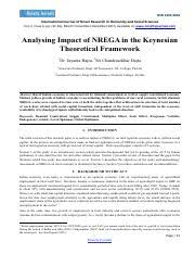 6 pages analysing impact of nrega 425pdf the best cover letter ever written