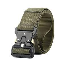 Buy JELINDA Men's <b>Tactical Belt</b> Nylon <b>Military</b> Style Webbing <b>Belt</b> ...