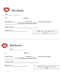 Rent Receipt Format Download Landlord Receipts Sample Forms Free ...