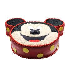 mickey mouse face cake mister baker