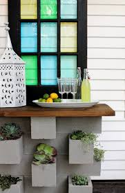 Small Picture Cinder block garden ideas furniture planters walls and decor