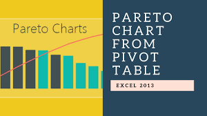 Pareto Chart Pivot Table Pareto Chart With Excel Pivot Table Charts