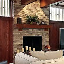 mid century modern fireplace mantle redesigns your home with more