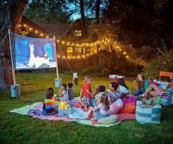 Backyard Movie Theater Screens  Backyard RefugeMovie Backyard