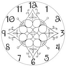 Printable Clock Face Designs Magdalene Project Org