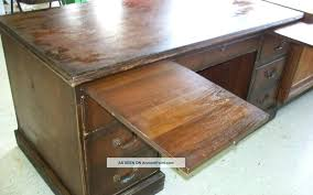 antique wooden desk a new ysis on sdy methods in office chair parts