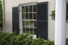 black exterior shutters. Simple Exterior Here Are Some Wide Black Exterior Shutters In Black Exterior Shutters