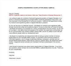 Sample Cover Letters For Engineering Jobs Bitacorita